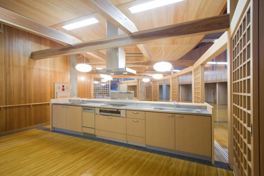 地域交流・高齢者福祉複合施設 | 山口県萩市の堀設計事務所